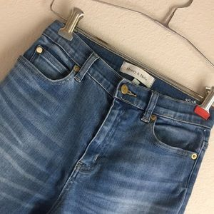 Henry & belle high waisted  jeans 25